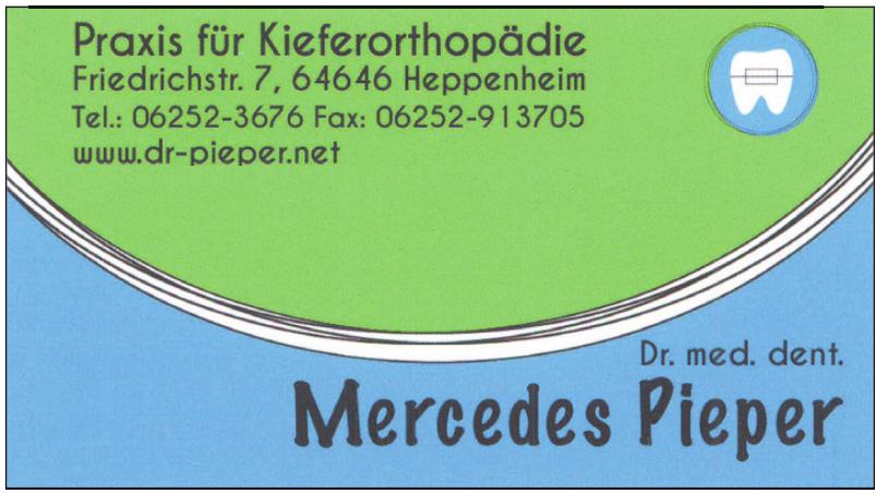 Dr.med. dent.  Mercedes Pieper