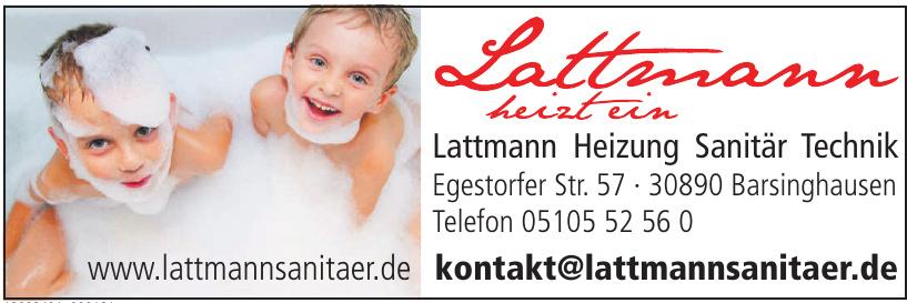Lattmann Heizung Sanitär Technik