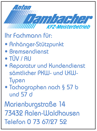 Anton Dambacher