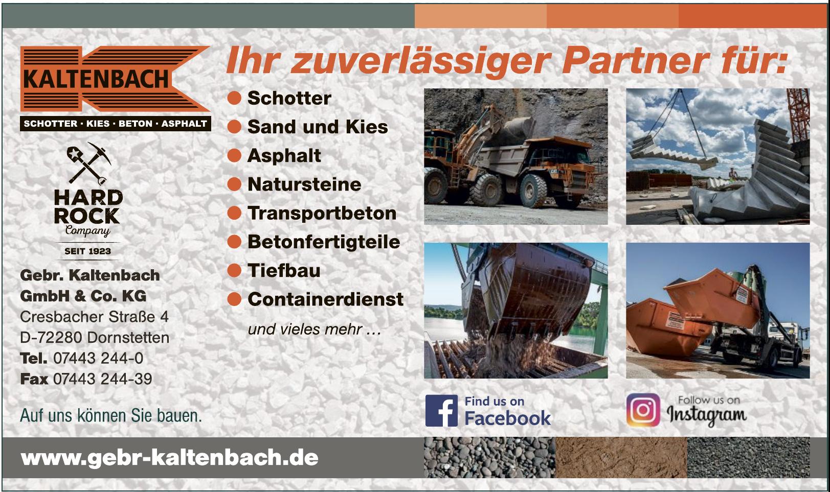 Gebr. Kaltenbach GmbH & Co. KG