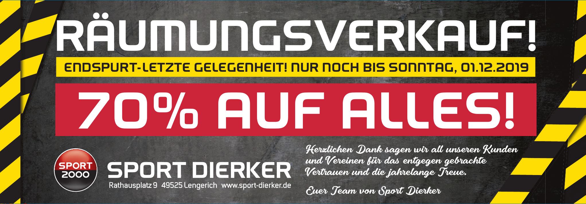 Sport Dierker