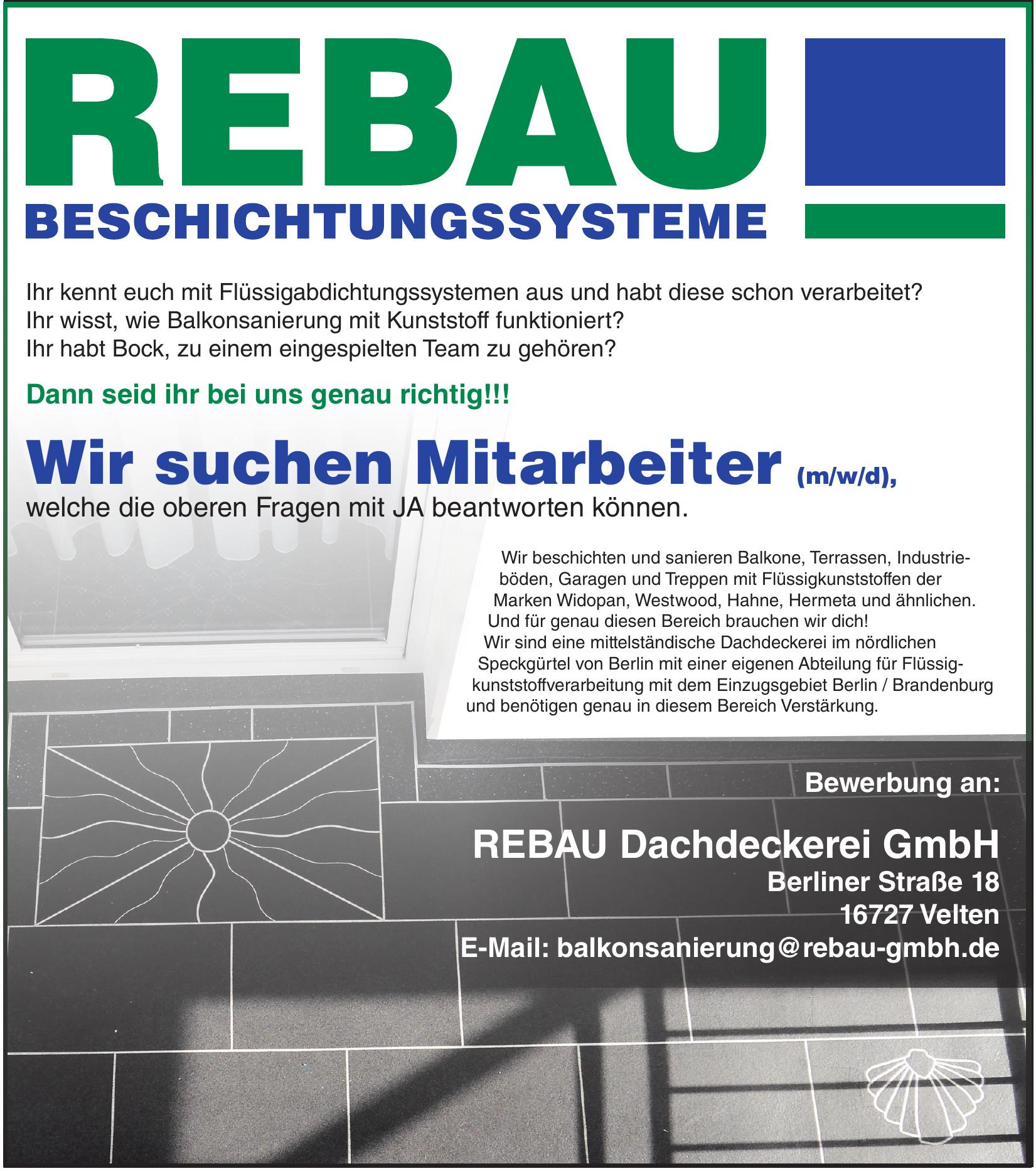 REBAU Dachdeckerei GmbH