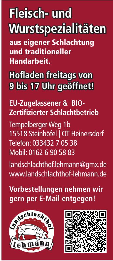 EU-Zugelassener & BIO-Zertifizierter Schlachtbetrieb