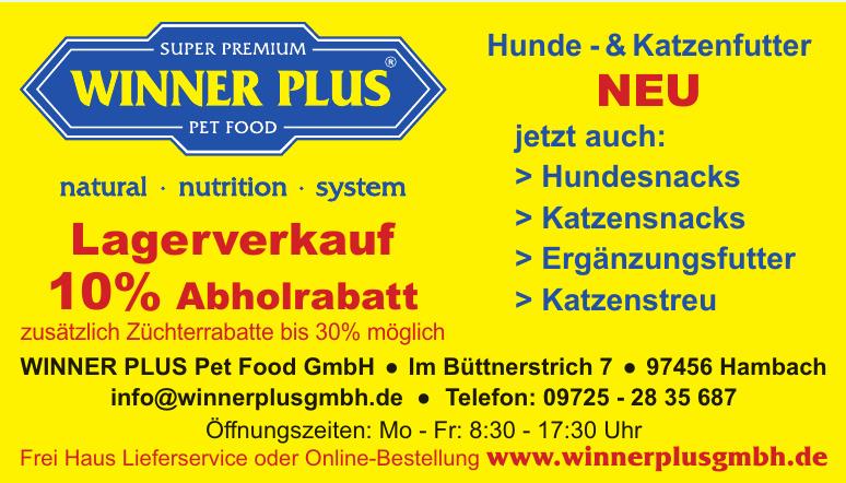 WINNER PLUS Pet Food GmbH