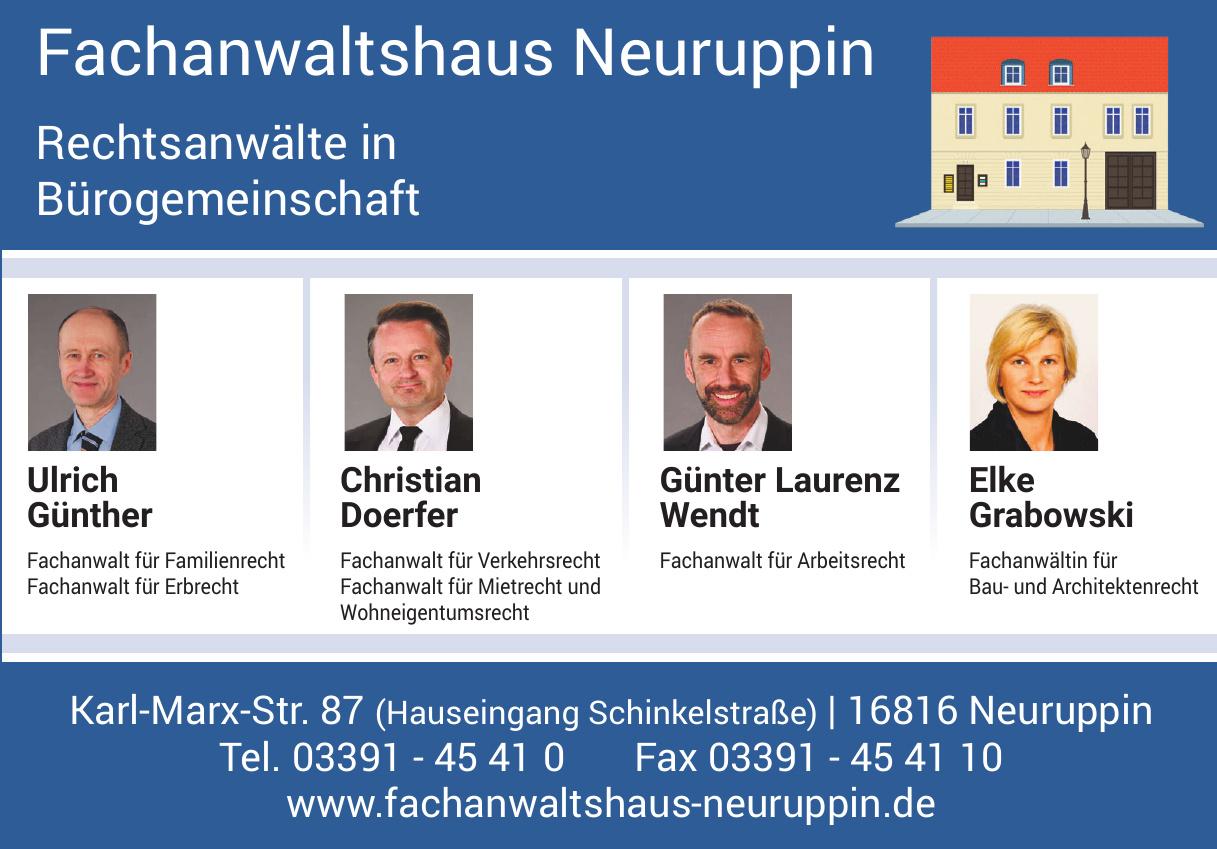 Fachanwaltshaus Neuruppin