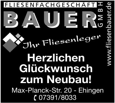 Fliesen Bauer GmbH