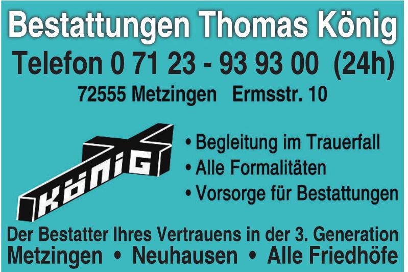 Bestattungen Thomas König
