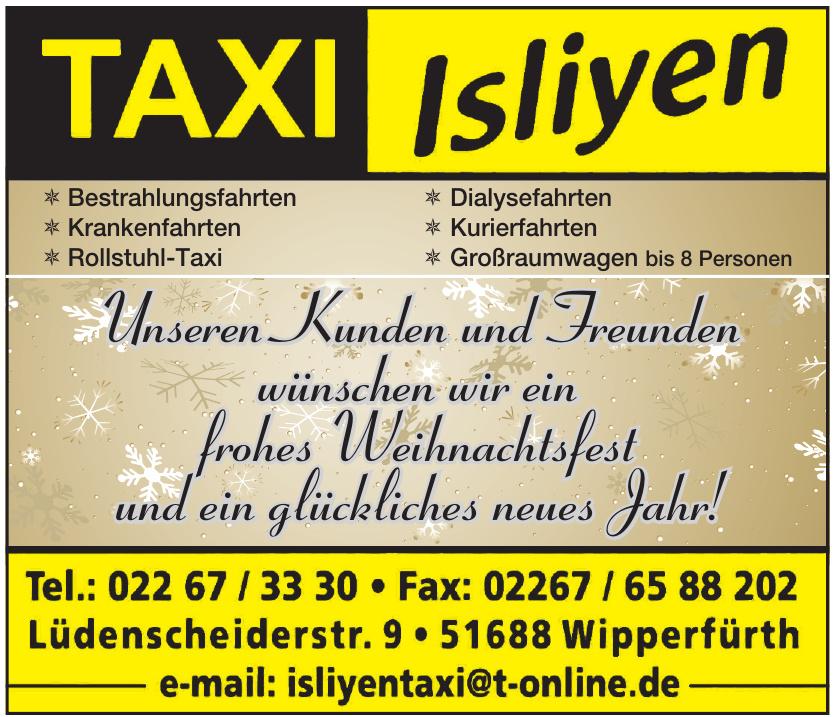 Taxi Isliyen