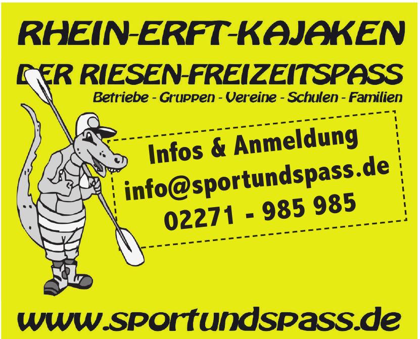 Sport und Spass
