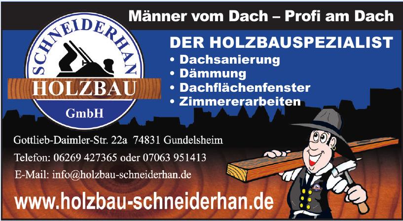 Holzbau Schneiderhan GmbH