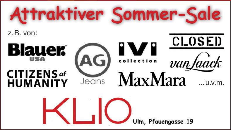 Attraktiver Sommer-Sale