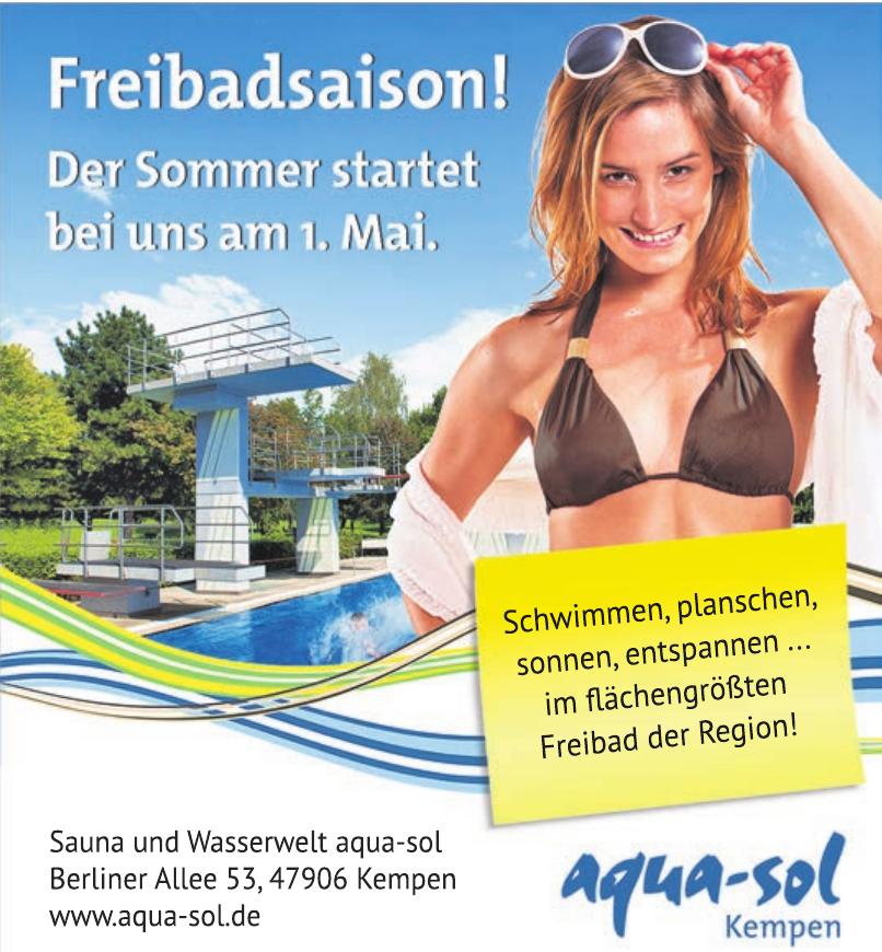 Sauna und Wasserwelt aqua-sol