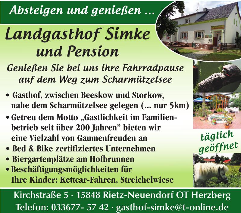 Landgasthof Simke und Pension