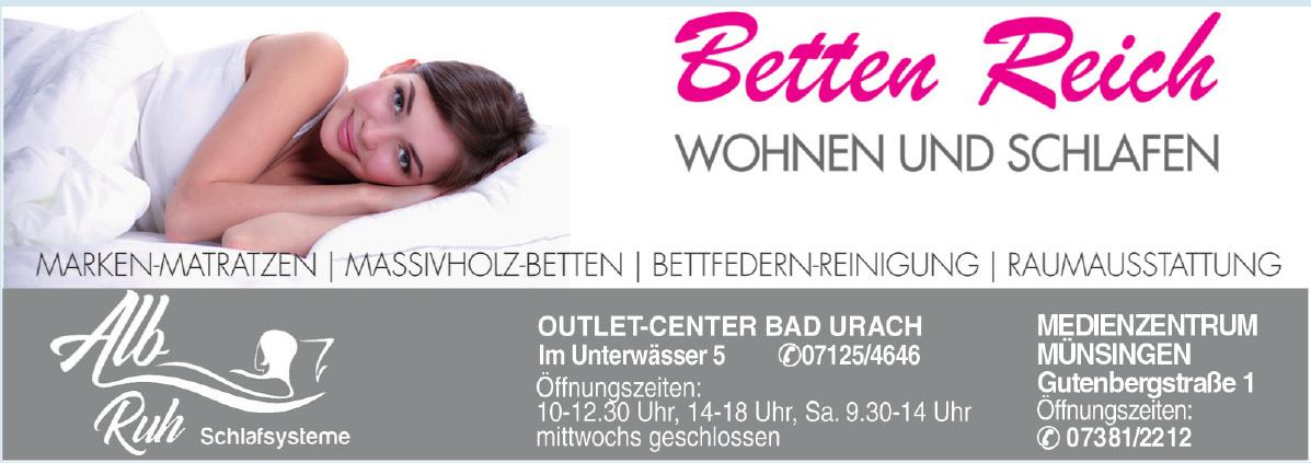 Betten Reich - Outlet-Center Bad Urach