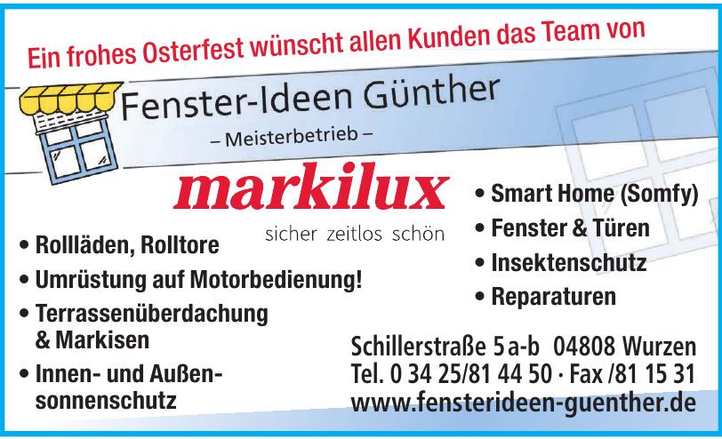 Fenster – Ideen Günther