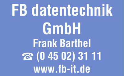 FB datentechnik GmbH Frank Barthel