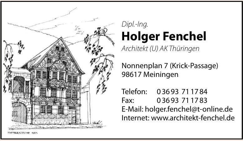 Dipl.-Ing. Holger Fenchel
