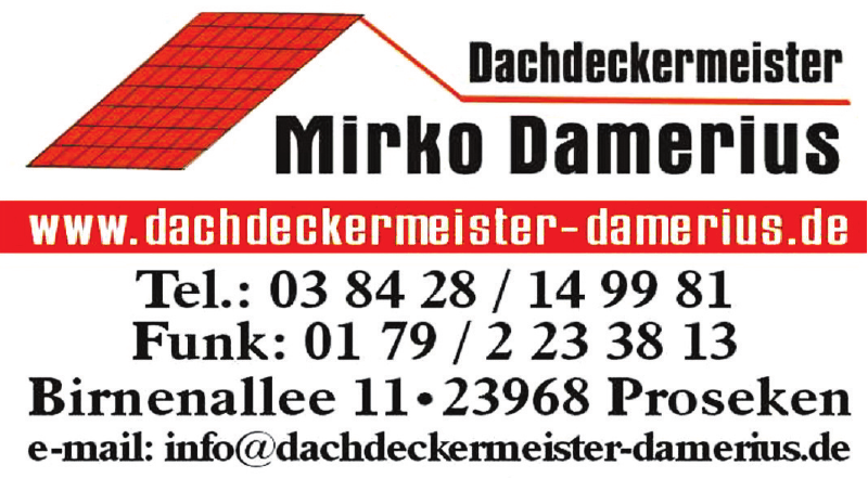 Dachdeckermeister Mirko Damerius