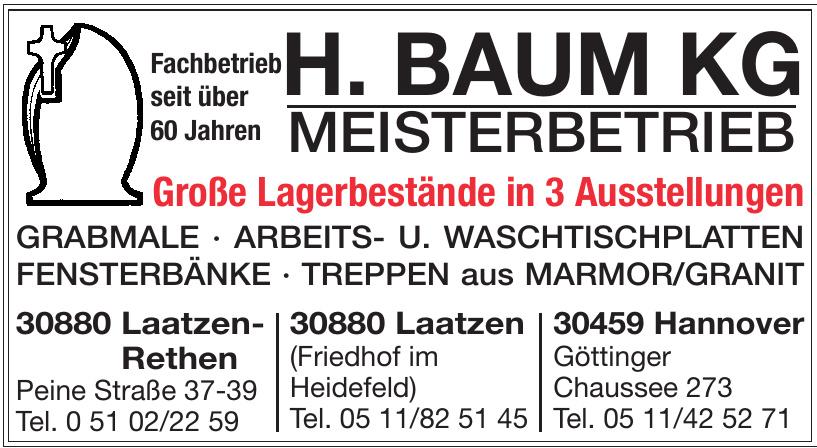 H. Baum KG Meisterbetrieb