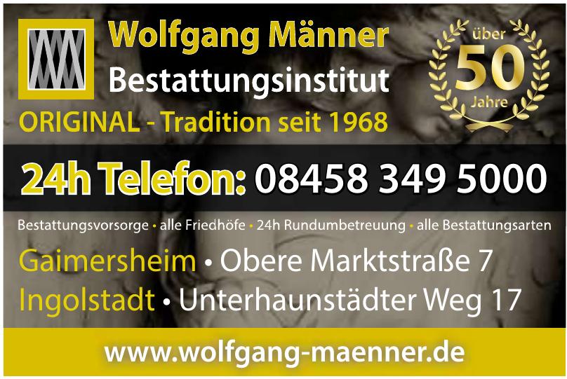 Wolfgang Männer Bestattungsinstitut