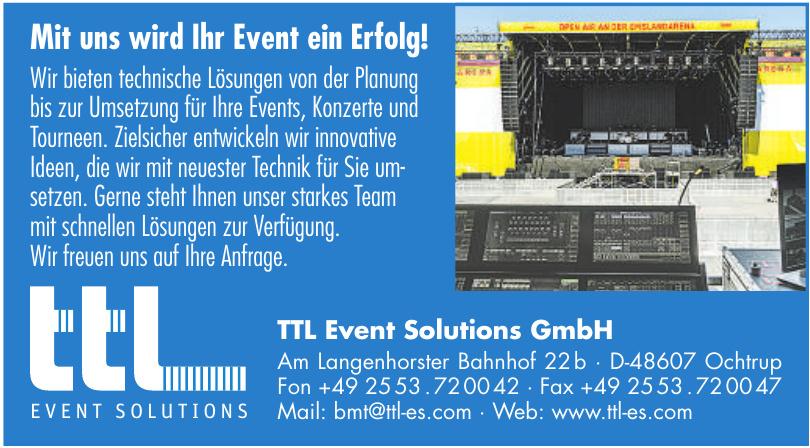 TTL Event Solutions GmbH