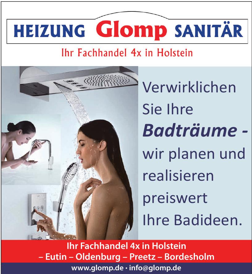 Heizungs-und Sanitärfachhandel Glomp GmbH