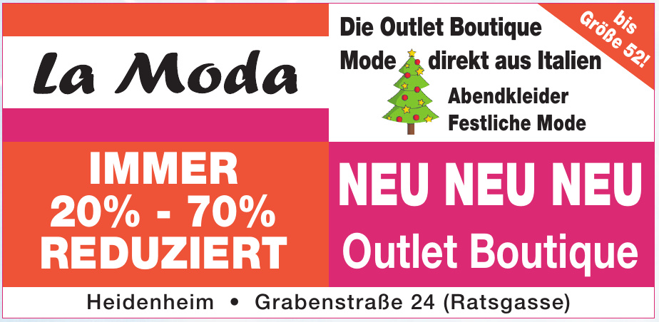 La Moda Outlet Boutique