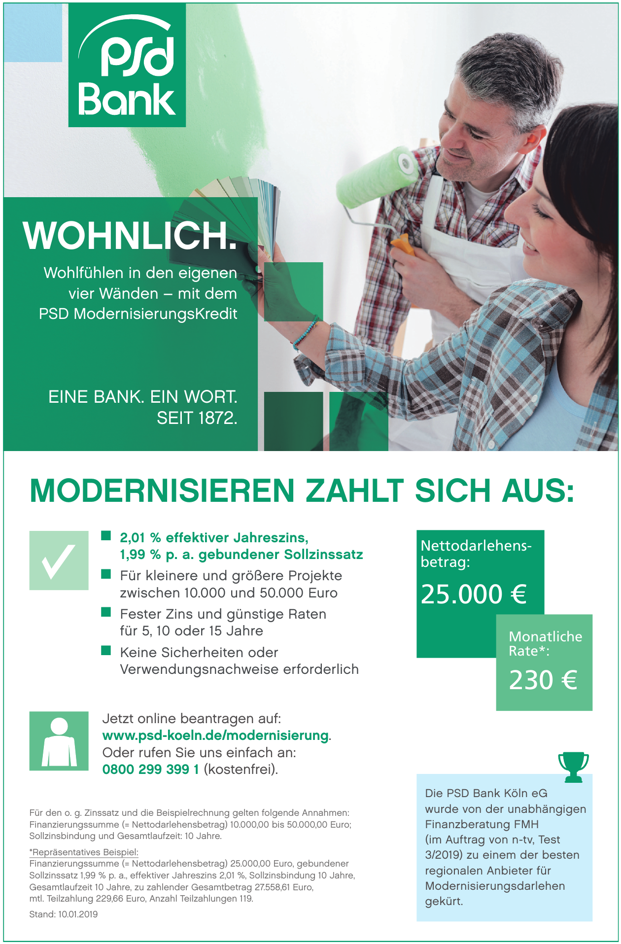 PSD Bank Köln eG - PSD ModernisierungsKredit