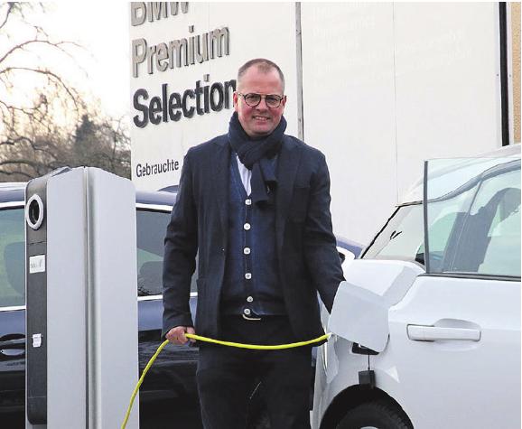 Innovationen: Seit Oktober ist das Autohaus Partner für Elektromobilität.