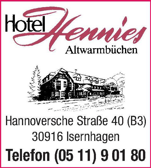 Hotel Henies Altwarmbüchen