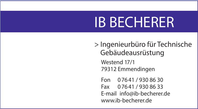 IB Becherer