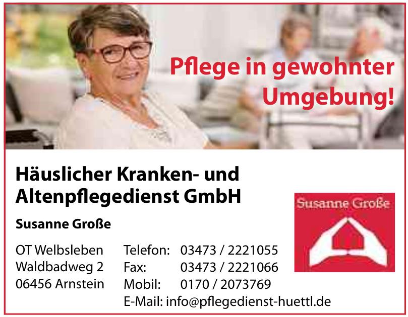 Häuslicher Kranken- und Altenpflegedienst GmbH