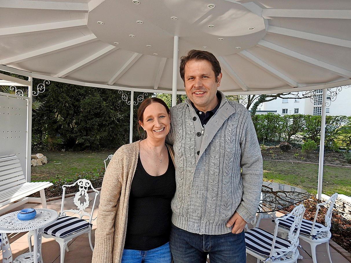 Cornelia und Michael Volz sind Hand und Herz der Appartements Biedermeier.