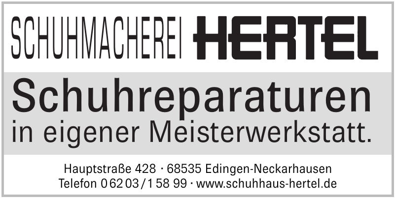 Schuhhaus Hertel