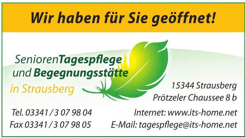 SeniorenTagespflege und Begegnungsstätte in Strausberg