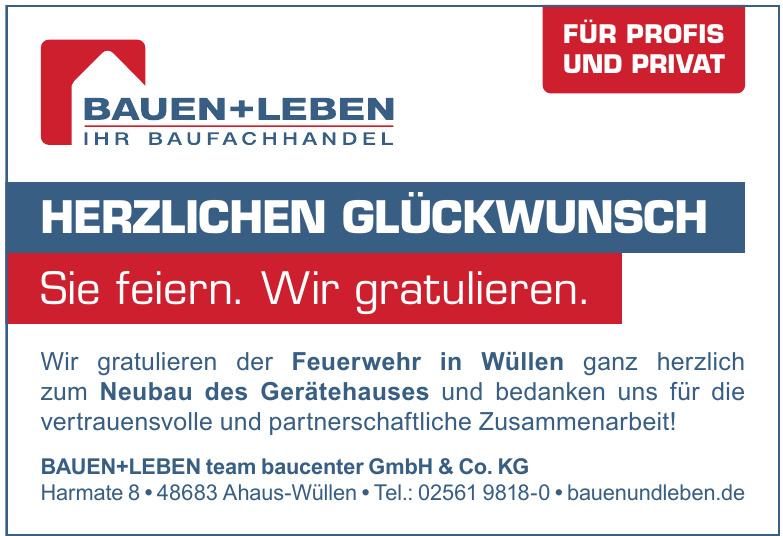 BAUEN+LEBEN team baucenter GmbH & Co. KG