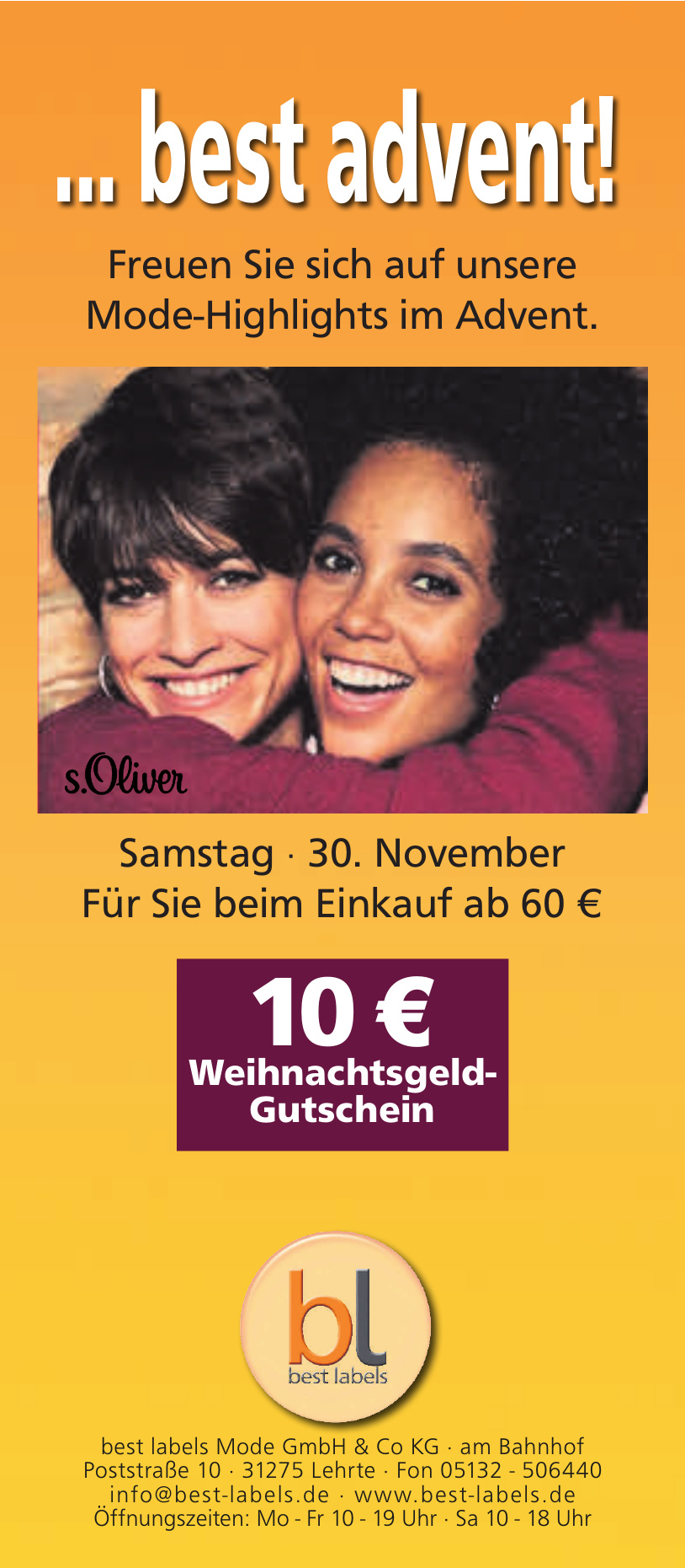 best labels Mode GmbH & Co KG