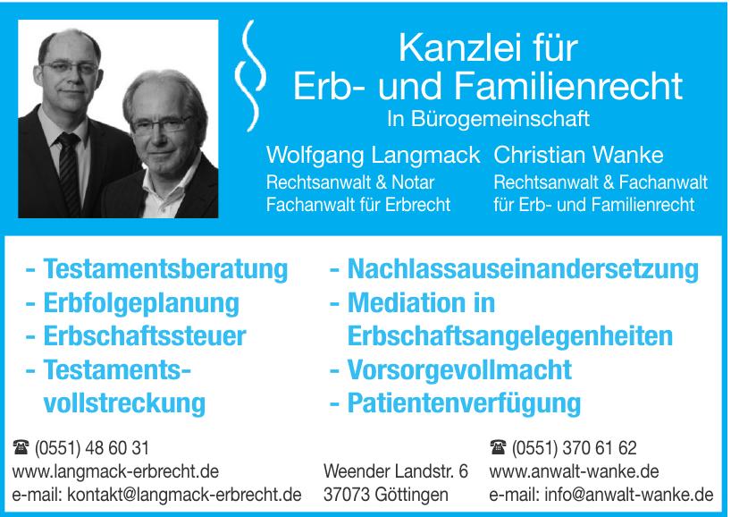 Kanzlei für Erb- und Familienrecht