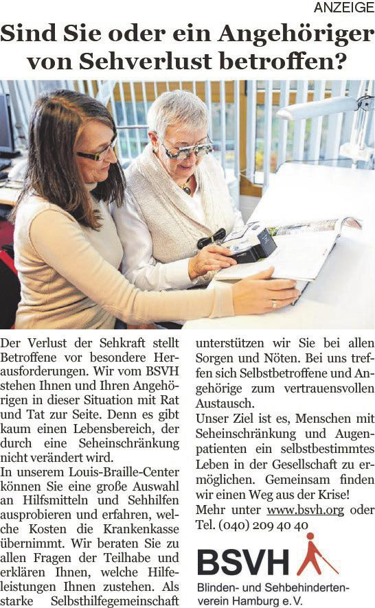 Blinden- und Sehbehindertenverein Hamburg