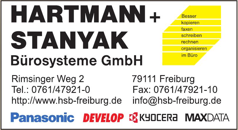 Hartmann + Stanyak Bürosysteme GmbH