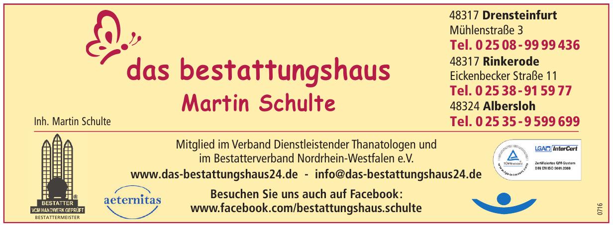 Das bestattungshaus Martin Schulte