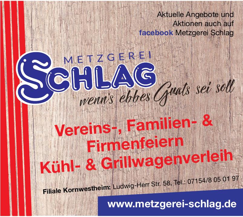 Metzgerei Schlag