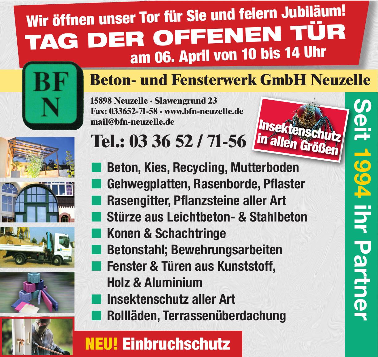 Beton- und Fensterwerk GmbH Neuzelle