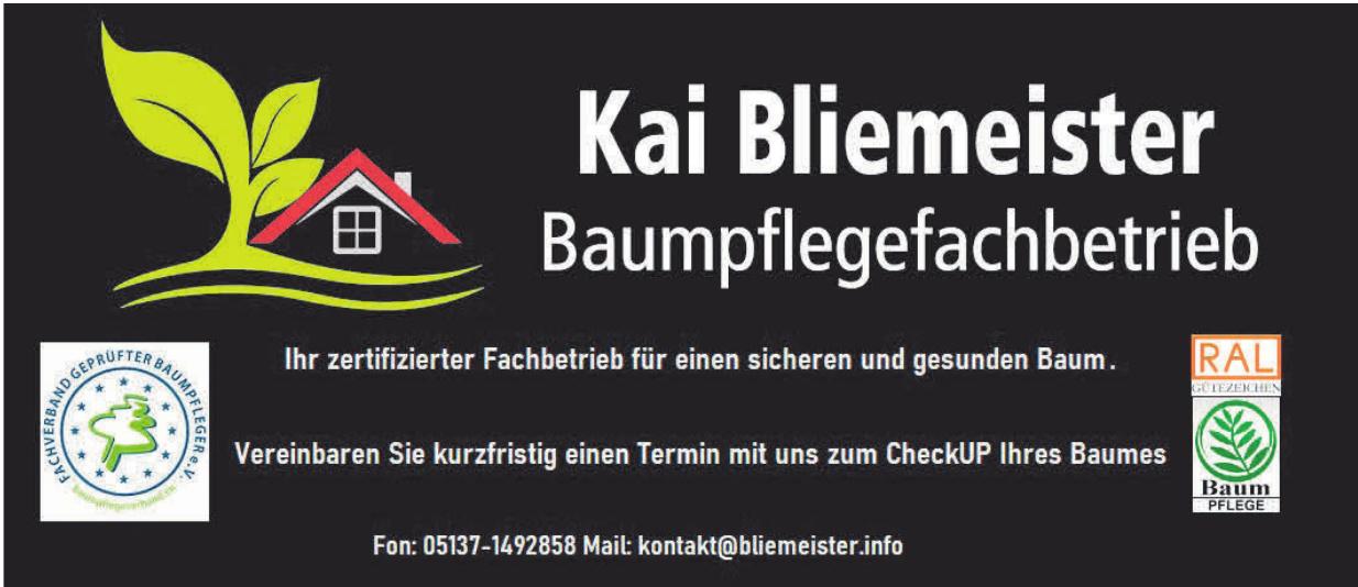 Kai Bliemeister Baumpflegefachbetrieb