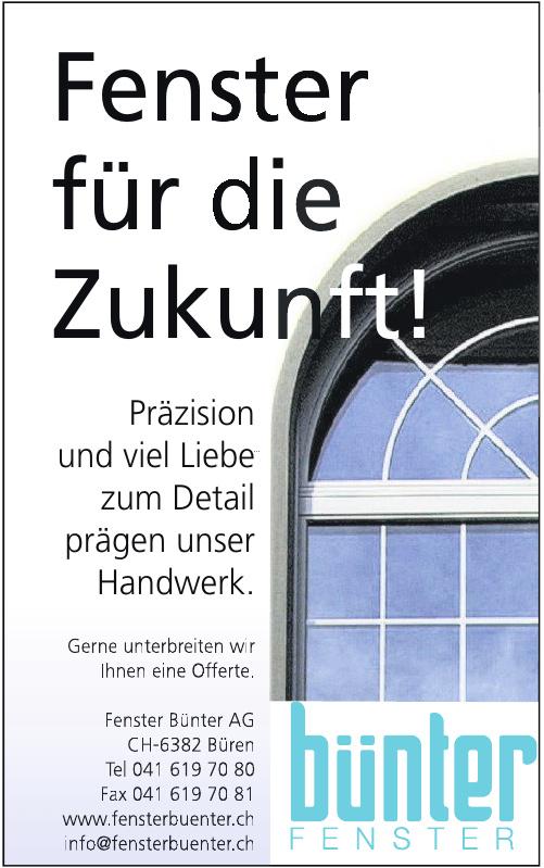 Fenster Bünter AG