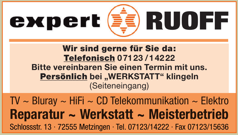 Expert Ruoff
