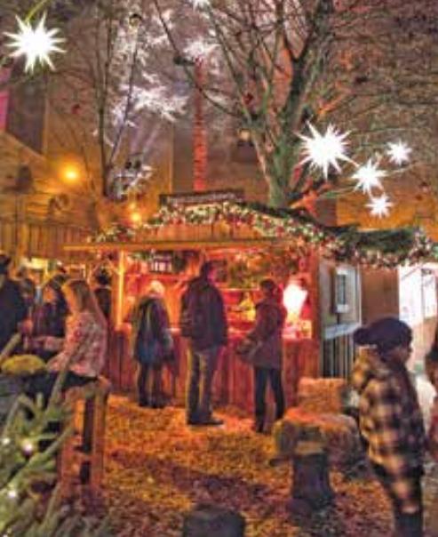 Vereinzelte Weihnachtsstände wird es in Lüneburg auch in diesem Jahr geben