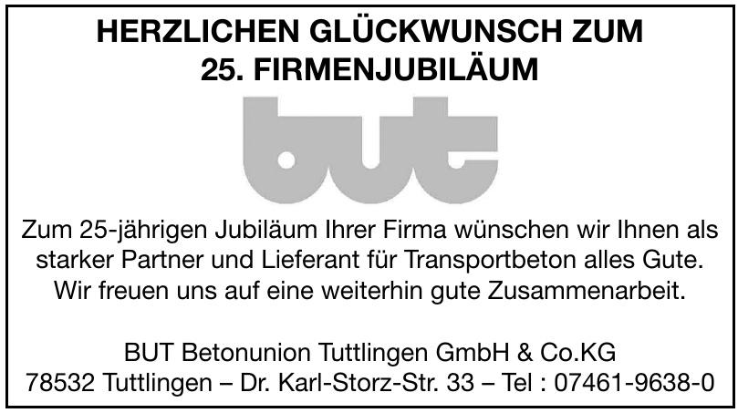 BUT Betonunion Tuttlingen GmbH & Co.KG