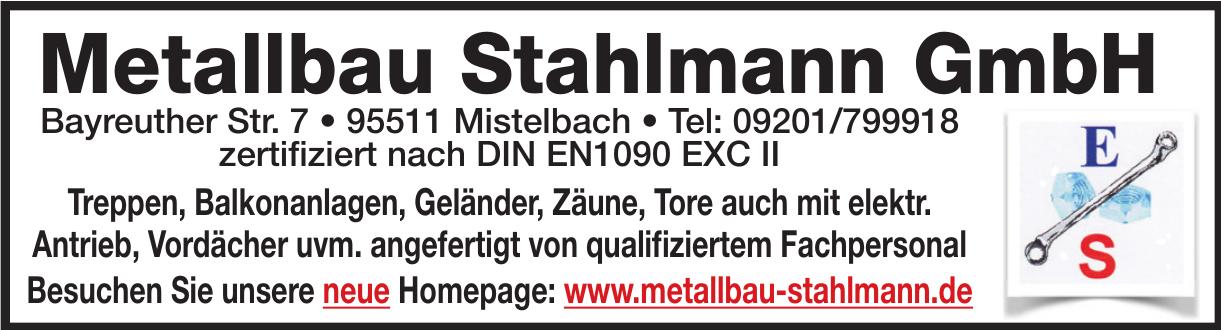 Metallbau Stahlmann GmbH