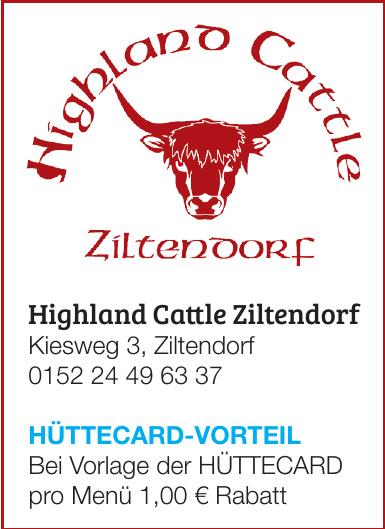 Highland Cattle Ziltendorf